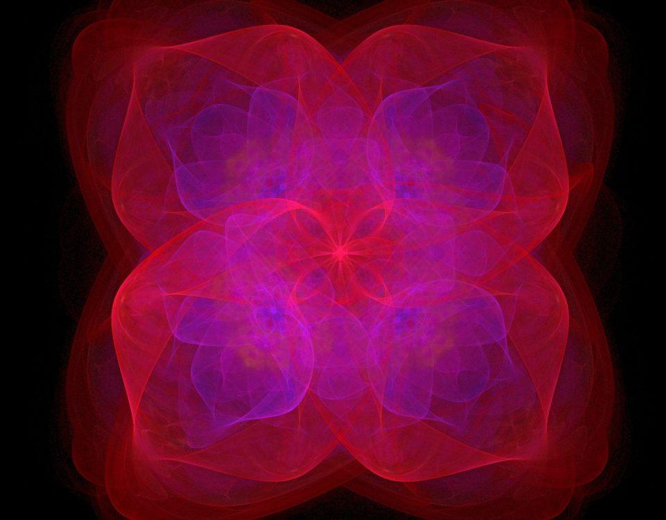 4 petal flower fractal