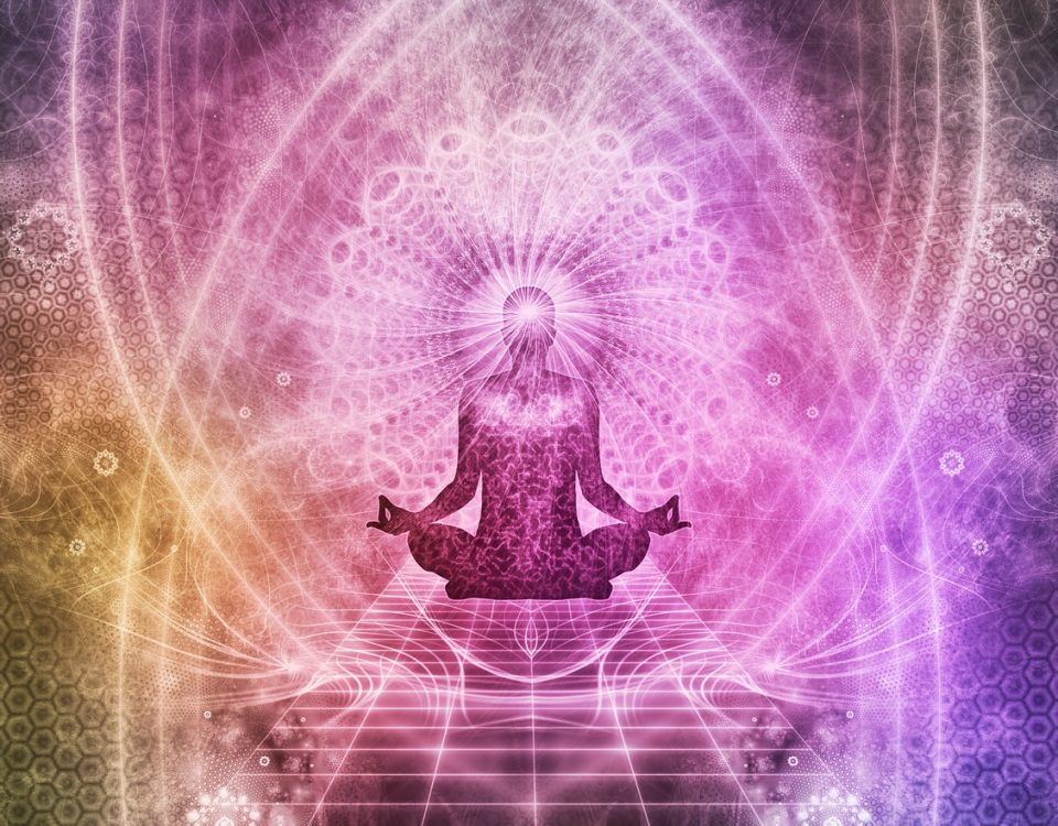 transition of energy in meditation