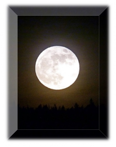 Moon with Frame