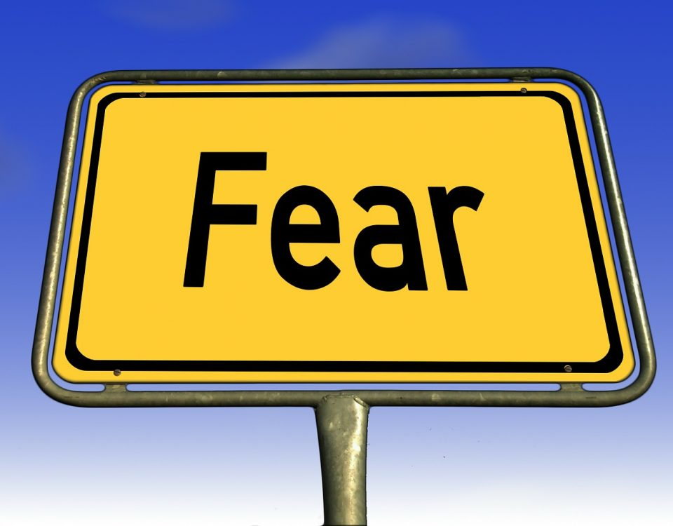 Fear Road Sign