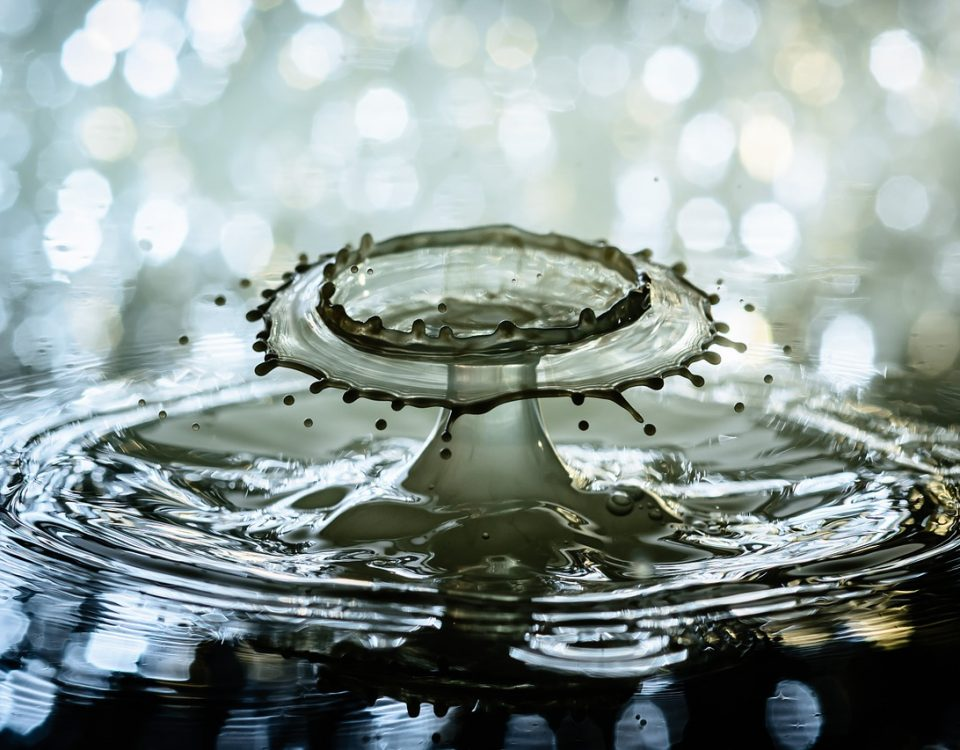 diamond water drop